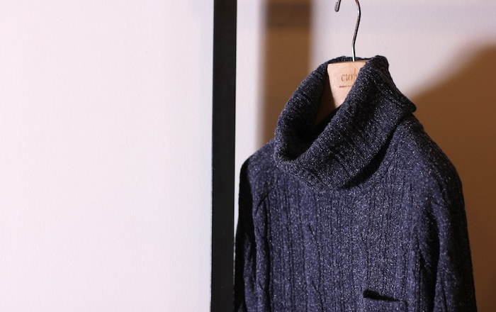 14AW SPOT ITEM Delivery  ~CABLE TURTLE NECK~