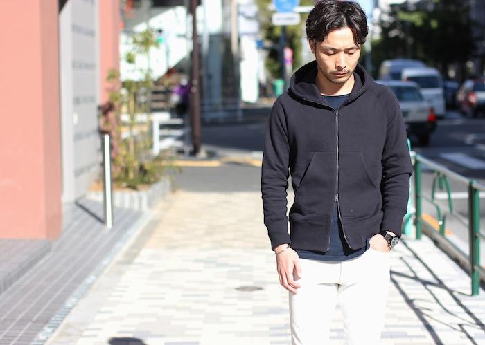 ×BRIGHT ZIP PARKA (¥16,000+TAX)