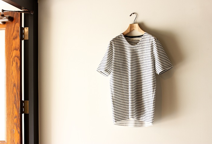 LUSTER POPOVER BORDER TEE