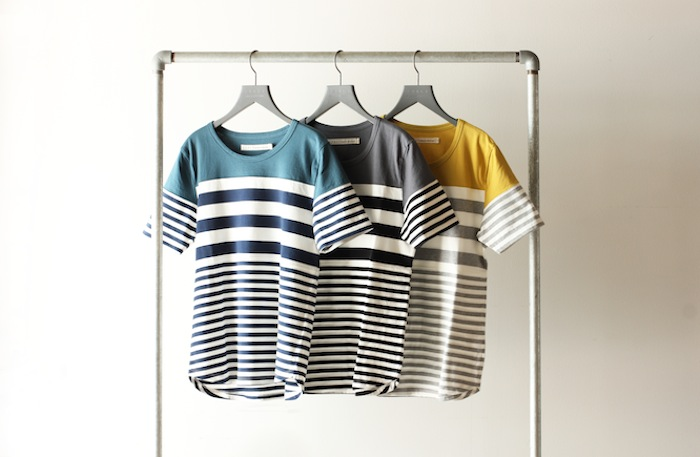 COMFUSED SS BORDER TEE