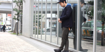 BRIGHT NC JACKET×BRIGHT TROUSERS