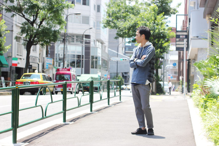 BLANK TROUSERS × Casual Style