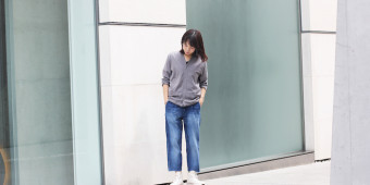 MAZARINE WD TROUSERS×Ladies Style
