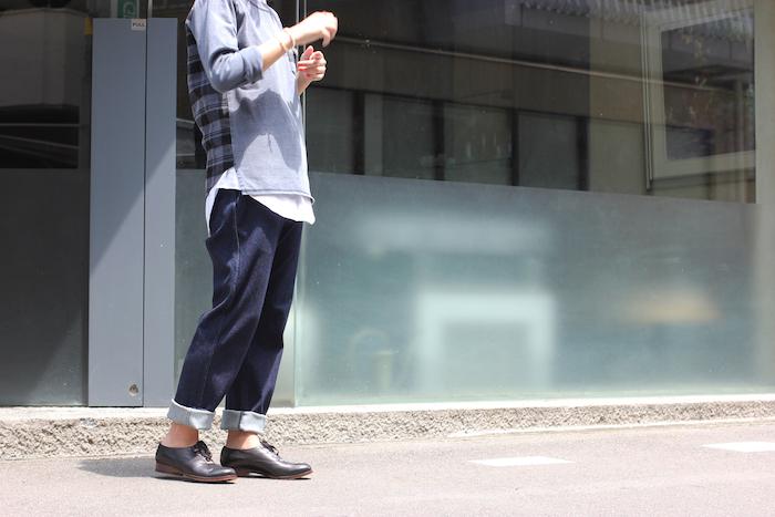 LS POPOVER SHIRTS TEE×Ladies Style