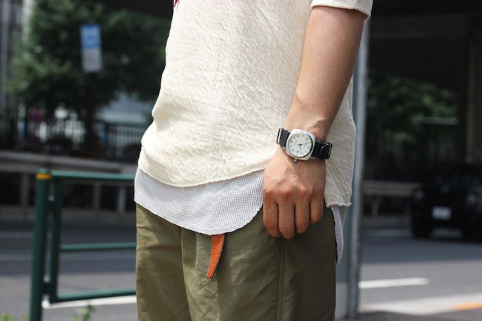 AW×SS Mix Style with BINDING HS TEE