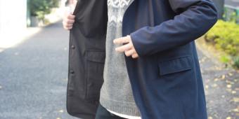 Soutien collar Coat Side