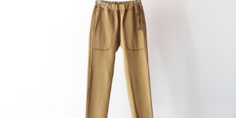 FROSTED EZ TROUSERS-BEIGE-