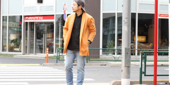 NOMADIC LIGHT COAT -ORANGE-