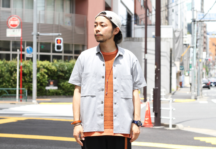 AZTEC JAQ DS TEE × CLOUDY SS SHIRTS