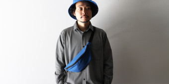 with ASTOR HAT?BLUE & ASTOR WAIST BAG/BLUE