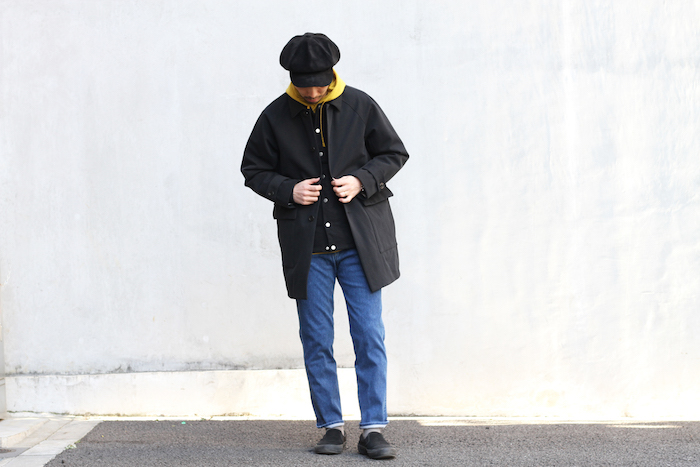 FROSTED LS PARKA × BRIGHT COAT