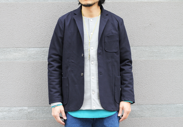TRACK  JACKET × FROSTED SNAP CARDE